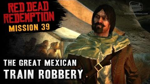 Red Dead Redemption - Mission 39 - The Great Mexican Train Robbery (Xbox One)