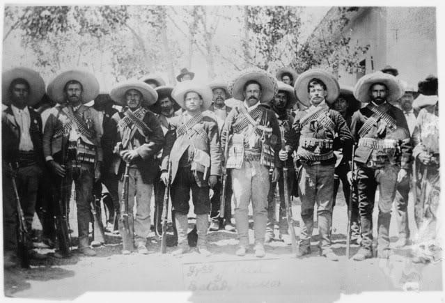 File:Villa and staff Mexico LOC.jpg