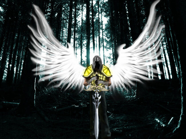 Schutzengel Guardian angel by Eracia64