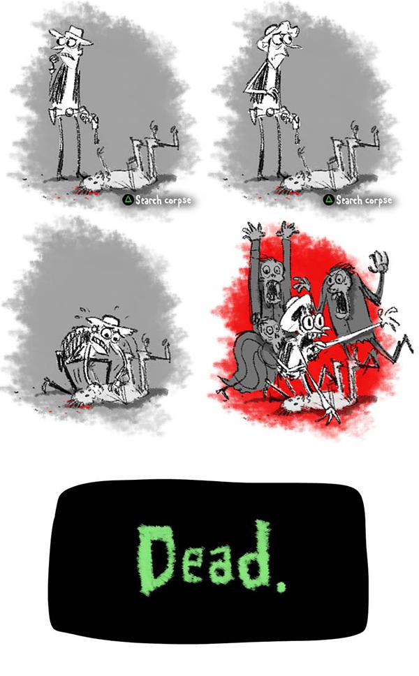 Undead fanillustration zombieloot