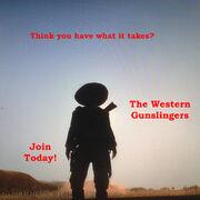 The Western Gunslingers Poster