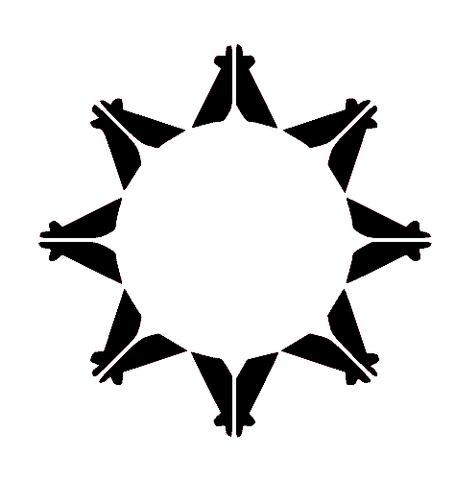 File:Sioux Logo BandW.png