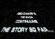 Red dwarf backwards star wars spoof