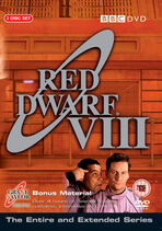 Red Dwarf VIII UK DVD Cover