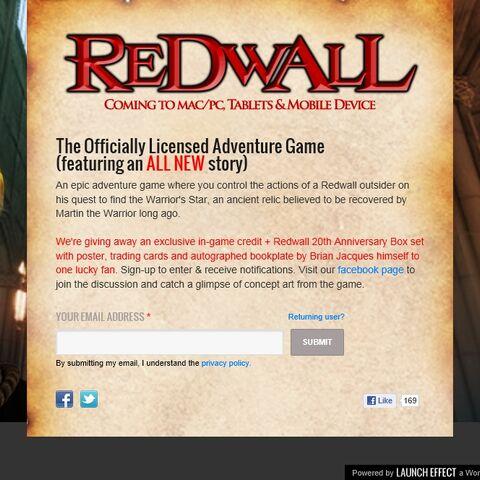 2012 Redwall Game