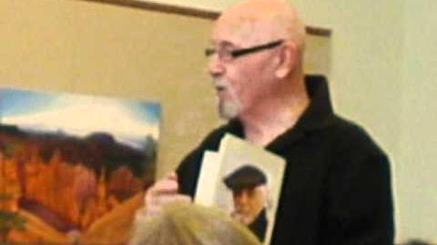 Brian Jacques at the Brookline Public Library, MA (part1)
