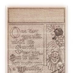 Sepia print for <i>Mattimeo</i>