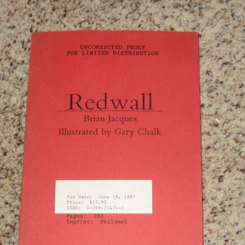 Redwall proof