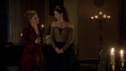 Dirty Laundry -14 Mary Stuart n Queen Catherine