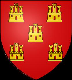 Blason ville fr Scorbé-Clairvaux (Vienne)
