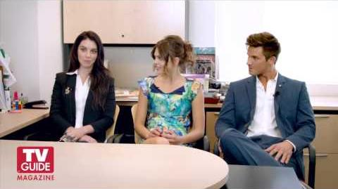Reign + Star-Crossed! Adelaide Kane, Aimee Teegarden, and Matt Lanter confess all!