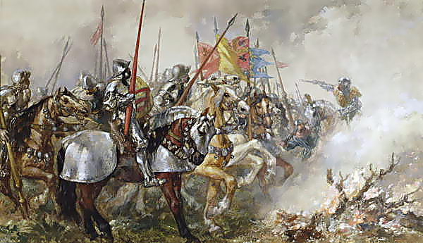 File:The Battle of Agincourt, 1415.png