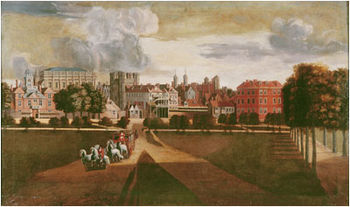 File:350px-The Old Palace of Whitehall by Hendrik Danckerts.jpg
