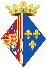 File:Coat of arms of Margaret of Valois as Queen of Navarre.png