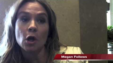 Megan Follows Talks REIGN