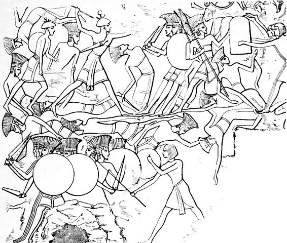 File:Pulasti (Philistine) and Tsakkaras (painting).png