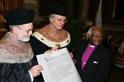 Desmond Tutu Honorary Doctorate Vienna