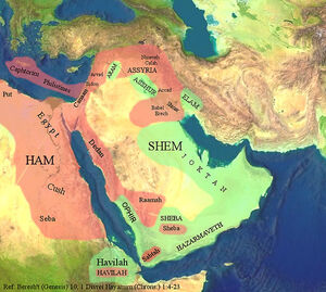 Middle East Shem-Ham