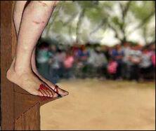 Dismas' Feet
