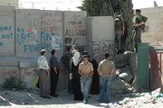 Checkpoint near Abu Dis