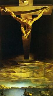 Dalí The Christ of St. John of the Cross