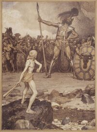 Osmar Schindler David und Goliath
