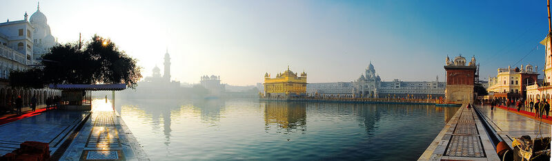 Golden temple pano