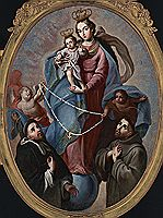 Cabrera The Madonna of the Rosary