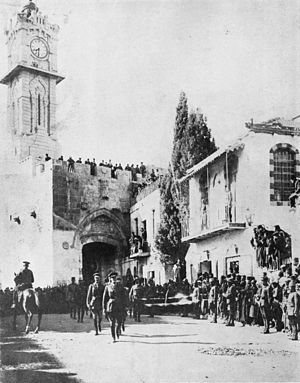 File:300px-Allenby enters Jerusalem 1917.jpg
