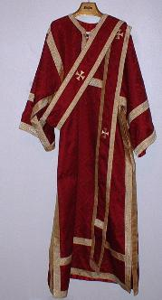 Orarion (double over dalmatic)