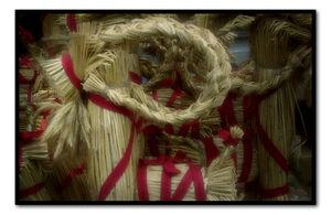 Swedish straw goat