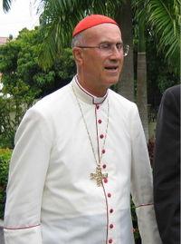 Missione del Guaricano-cardinale Tarcisio Bertone