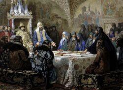 Patriarch Nikon Revising Service-Books