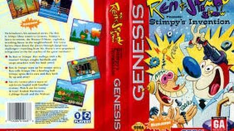 Ren and Stimpy - Stimpy's Invention (1993) - Full Walkthrough (Sega)