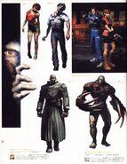 CAPCOM design WORKS art book - Chapter 01 - bio hazard-series - Page 24