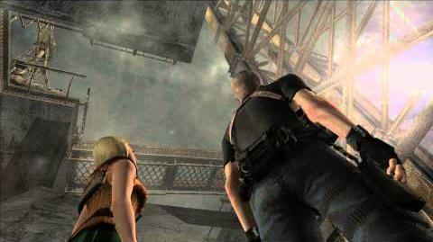 Resident Evil 4 all cutscenes - Final Chapter scene 1