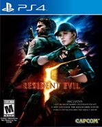 Resident Evil 5 PlayStation 4 Box Artwork - Front