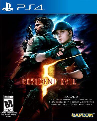 File:Resident Evil 5 PlayStation 4 Box Artwork - Front.jpg