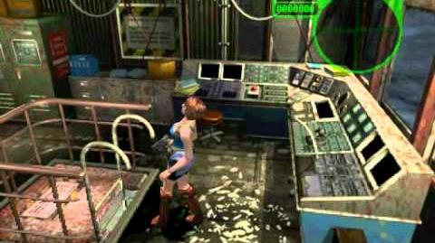 Resident Evil 3 Nemesis cutscenes - Emergency Level D (alternate 2)