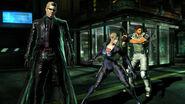 Marvel Vs Capcom 3 Albert Wesker & Jill Valentine & Chris Redfield