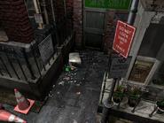 Resident Evil 3 background - Uptown - boulevard m1 - R1030C