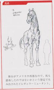 Zombie-horse