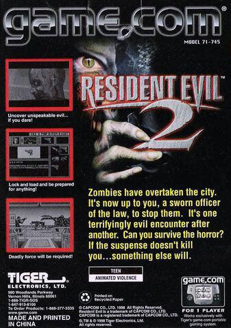 File:Resident Evil 2 - Game.com back cover.jpg