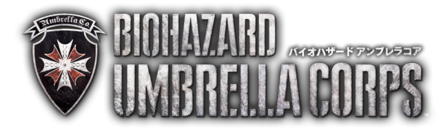 File:BIOHAZARD UMBRELLA CORPS game logo.png