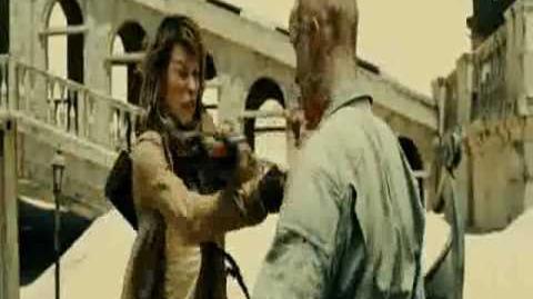 Resident Evil 3 Extinction Fight Scene