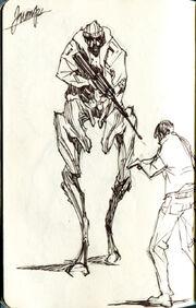 Noga-Skakanje concept art 3