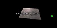 Watchman's diary