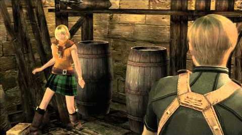 Resident Evil 4 all cutscenes - Chapter 2-1 scene 3