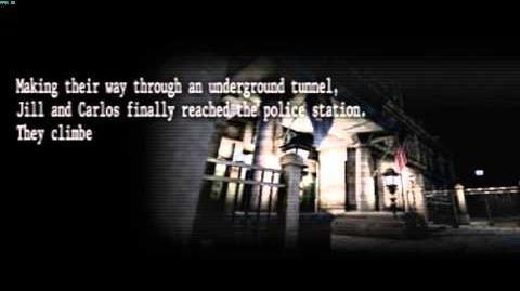 Resident Evil The Umbrella Chronicles all cutscenes - Raccoon's Destruction 3 opening