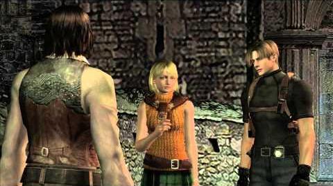Resident Evil 4 all cutscenes - Chapter 3-1 scene 1